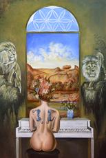 Carlos SABLÓN - Gemälde - Le seuil