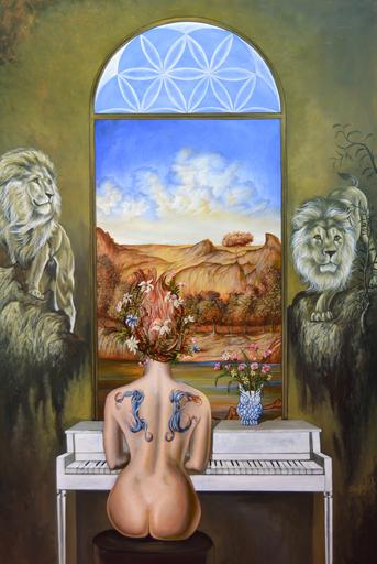 Carlos SABLÓN - Peinture - Le Seuil