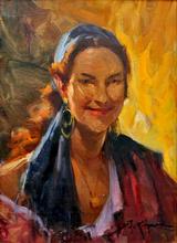Richard DURANDO TOGO (1910-?) - La Gitane Rousse