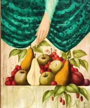 Philippe AUGÉ - Pintura - Nature morte au fruits
