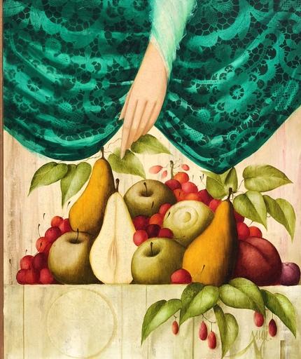 Philippe AUGÉ - 绘画 - Nature morte au fruits
