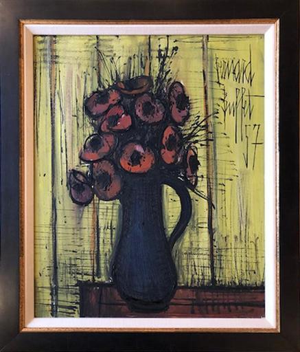 Bernard BUFFET - Painting - Anemones