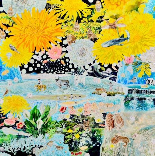 Teppei IKEHILA - Peinture - Outside of Sight Breath