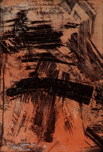 Marcelle FERRON (1924-2001) - Abstraction 1959