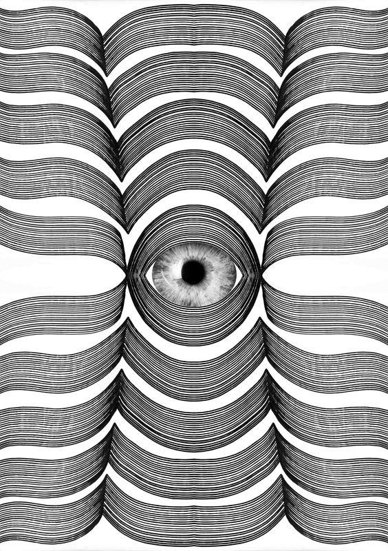 Sumit MEHNDIRATTA - Print-Multiple - Look Into My Eye