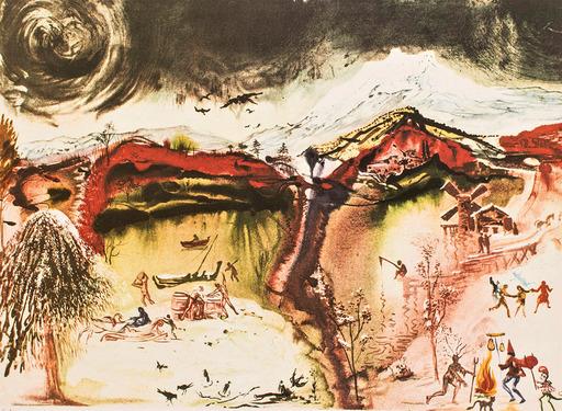 萨尔瓦多·达利 - 版画 - AUTUNNO / AUTUMN