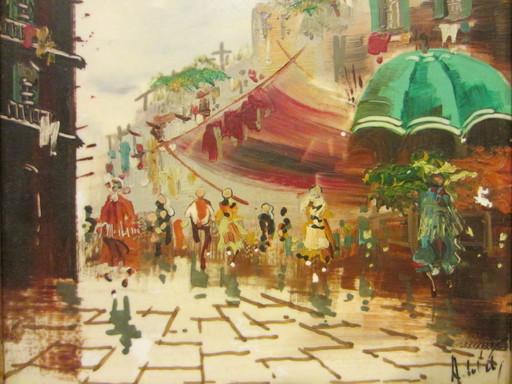 Antonio DEVITY - Painting - Orig Tile