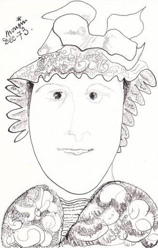 Jules MOUGIN - Dibujo Acuarela - Cinq exercices