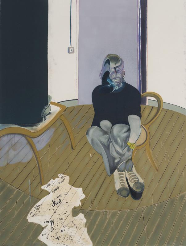 Francis BACON - Grabado - Self-portrait