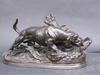 Jules MOIGNIEZ - Escultura - Basset levant un gibier