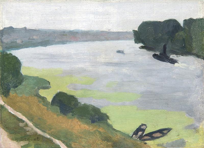 Albert MARQUET - Gemälde - La Seine à Herblay