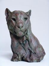 Patrick VILLAS - Sculpture-Volume - Tête de puma