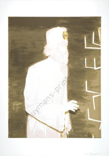 Luc TUYMANS - Estampe-Multiple - The Worshipper