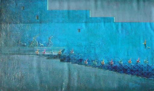Trino SANCHEZ - Gemälde - sans titre