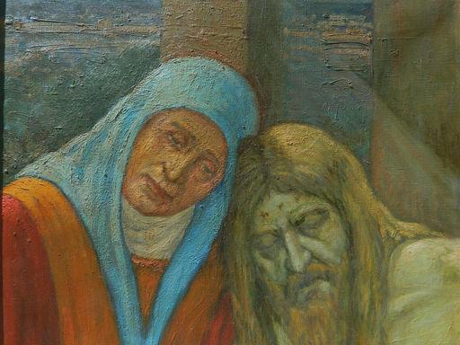 Henri Raymond TURBEAUX - Painting - RELIGION - JESUS