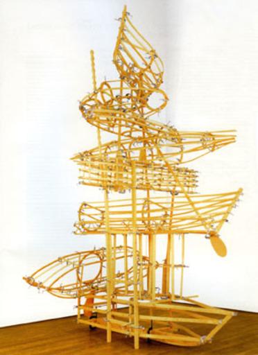 KCHO - Sculpture-Volume - La columna infinita II