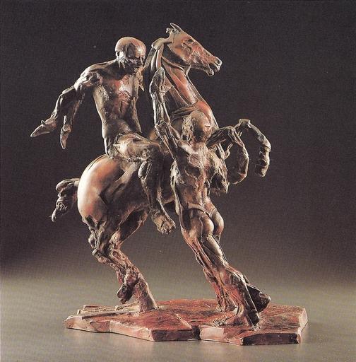 Philippe SEENÉ - Sculpture-Volume - Cavalier II - n° 1/8
