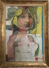 Paul REBEYROLLE - Pintura - Femme
