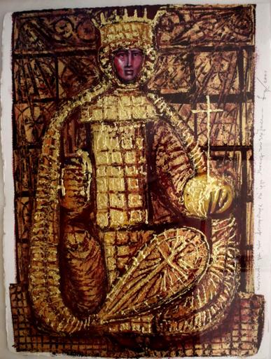 Rudolf KRIVOS - 绘画 - Orthodox icon