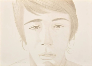 Alex KATZ - Stampa-Multiplo - Vincent