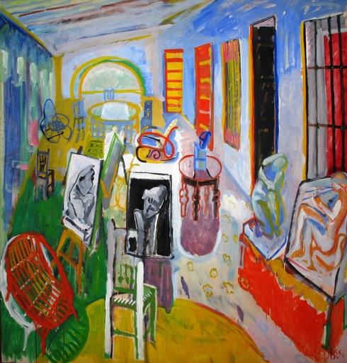 Juan NAVARRO BALDEWEG - Pintura - La Academia