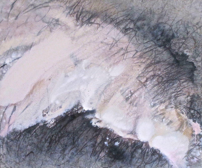 Baruj SALINAS - Pintura - White Tongue