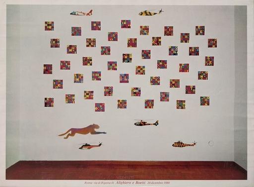 Alighiero BOETTI - Painting - SENZA TITOLO