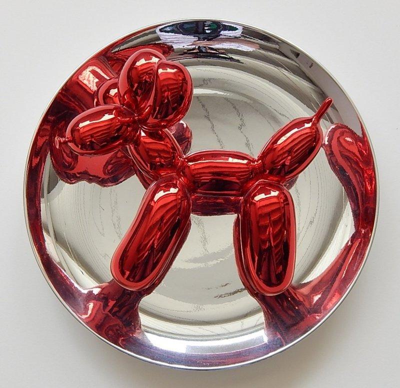 Jeff KOONS - Sculpture-Volume - Red Balloon Dog