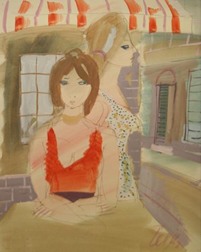 Charles LEVIER - Pintura - Two Women