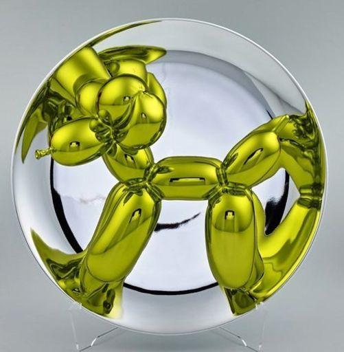 Jeff KOONS - Scultura Volume - Yellow Balloon Dog