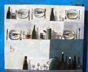 Zurab GIKASHVILI - Gemälde - Still life
