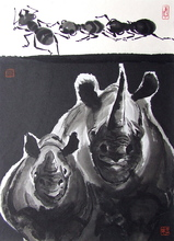 WONG Wa (1953) - Le Rhinocéros et la fourmi / The Rhino and the ant