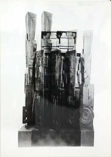 Louise NEVELSON - Print-Multiple - Clowns' Houses