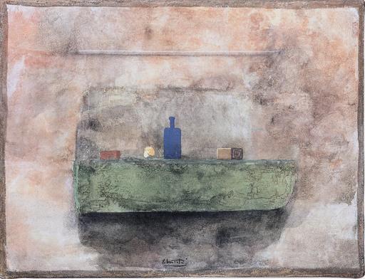 Piero MOSTI - Pintura - Muro con mensola