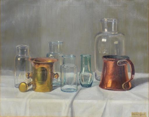 Arpad ROMEK - Gemälde - Still-life