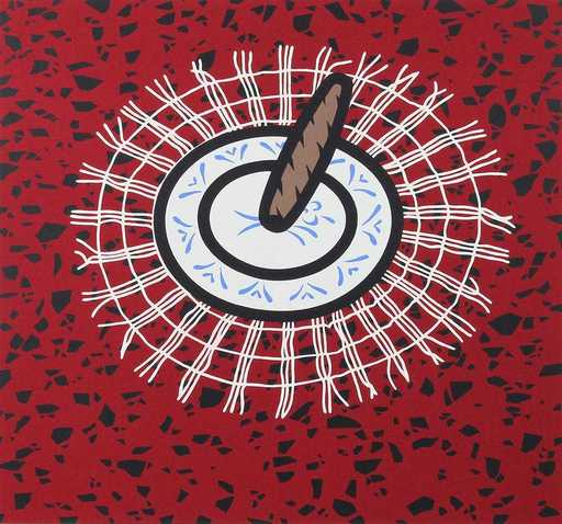 Patrick CAULFIELD - Stampa-Multiplo - Cigar