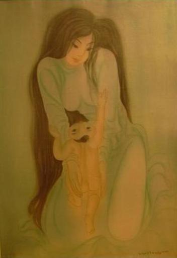 Mai LONG - Painting - Love, Long 13