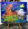 Nicole LEIDENFROST - Gemälde - Ein Spaziergang am Hamburger Hafen