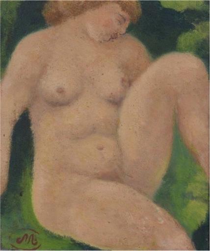 Aristide MAILLOL - Gemälde - Baigneuse