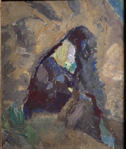 """Daniel VÁZQUEZ DÍAZ - Painting - """"La cueva"""""""