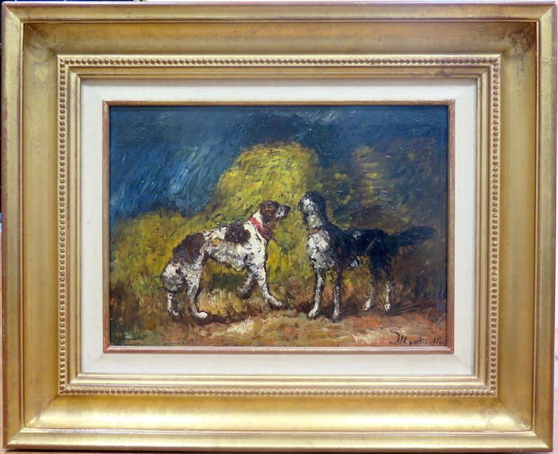 Adolphe MONTICELLI - Painting - Les deux compagnons