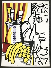 Roy LICHTENSTEIN - Print-Multiple - Still life with Picasso