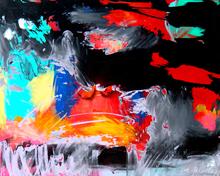 Lia GALLETTI - Painting - FROZEN MIST