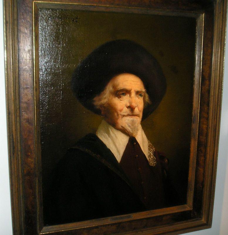 Lajos KOLOZSVARY - Painting - Portret