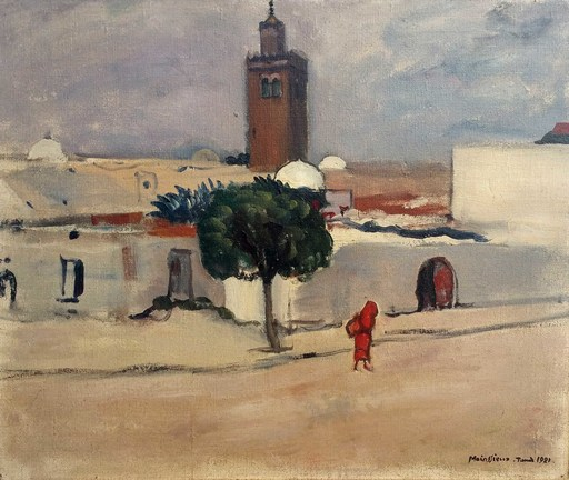 Lucien MAINSSIEUX - Pintura - Tunis