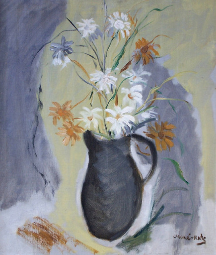MANÉ-KATZ - Painting - Flowers