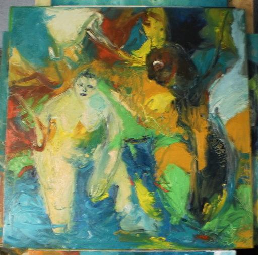 Bernard MOREL - Painting - ARBRES
