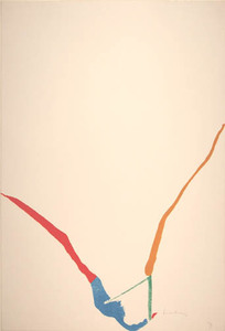 Helen FRANKENTHALER, What Red Lines Can Do, 73/75