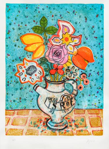 Paul AIZPIRI - Print-Multiple - Bouquet