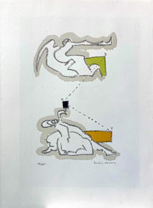 Dorothea TANNING - Estampe-Multiple - Le geste